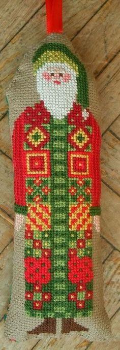 tall Santa - gazette94: free pattern