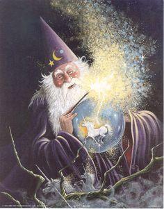 Fantasy Wizards | Wizard Unicorn