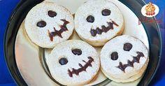 Biscotti fantasma per Halloween Cookies, Breakfast, Desserts, Photo Blog, Food, Crack Crackers, Morning Coffee, Tailgate Desserts, Deserts