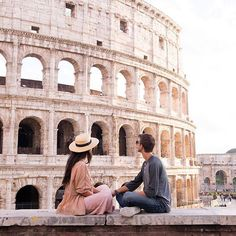 Let's experience the world together! (Photo by Rome Photography, Couple Photography, Travel Photography, Shooting Photo, Smash Book, Travel Goals, Travel Couple, Italy Travel, Rome Travel