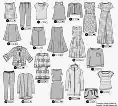 Confessions of a Sewing Novice: Ottobre Plus Size Womens Clothing, Plus Size Outfits, Clothing Patterns, Sewing Patterns, Sewing Ideas, Plus Size Summer Fashion, Coin Couture, Plus Size Tips, Pattern Library