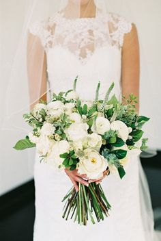 Featured Photographer: Carmen Santorelli Photography; wedding bouquet idea