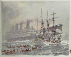 Pêcheurs des quatre mers. Illustrations de Albert Brenet, Marin ...