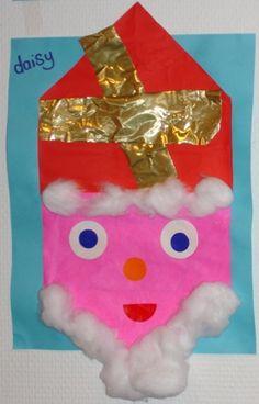 Vouwen 2d: Sinterklaas