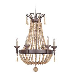 Found it at Joss & Main - Berkshire 6 Light Candle Chandelier