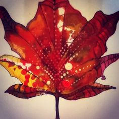 My Leaf design, on bags, cards, bunting, decorations