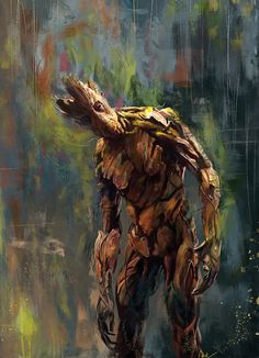 I am Groot! Art Print