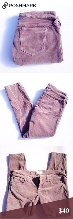 🆕FREE PEOPLE velvet pants Some stretch, soft, 97% cotton, skinny, flattering.  Inseam appx 25, rise appx 9. Thank you for visiting my closet. I usually ship the next day. Please feel free to ask me any questions. I am here to help. :) Bundle to save. Free People Jeans Skinny