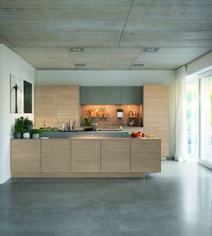 filigno kitchen design collection - Home Decorating Trends - Homedit Modern Kitchen Design, Interior Design Kitchen, Kitchen Designs, Small U Shaped Kitchens, German Kitchen, Beautiful Kitchens, Home Kitchens, House Design, Loft