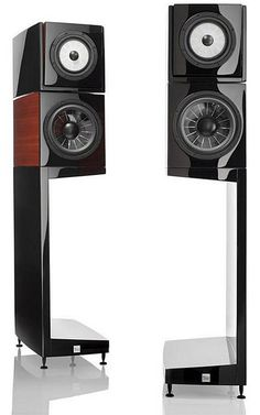 Vienna Acoustics Klimt The Kiss loudspeaker Audiophile Speakers, Diy Speakers, Stereo Amplifier, Bookshelf Speakers, Hifi Audio, Built In Speakers, Stereo Speakers, Audio Design, Speaker Design
