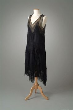 Evening dress, Peggy Hoyt, ca. 1928; Meadow Brook Hall Historic Costume Collection