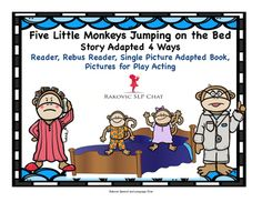 Lexi Absher- This would be a good book to read to the preschoolers and a good way to count with them. It's a very interesting book and i think they would enjoy it because it has monkeys jumping on the bed!