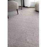 Found it at Wayfair - Burnette Hand-Woven Gray Area Rug