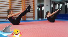 Hasizom erősítés gyerekeknek - Baby shark zene - Testnevelés VIDEÓ - Kalauzoló - Online tanulás Baby Shark, Basketball Court, Exercise, Gym, Sports, Ejercicio, Hs Sports, Excercise, Work Outs