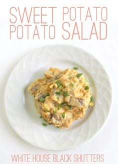 Sweet Potato Potato Salad