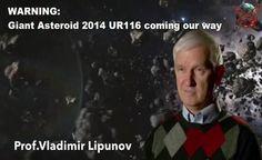 Disso Voce Sabia?: Cientista Russo Adverte: Asteroide Gigante 2014 UR116 vindo em nossa Direção