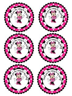 alondra y akemy Minnie Birthday, Minnie Mouse Party, Mouse Parties, 1st Birthday Parties, 3rd Birthday, Birthday Ideas, Mickey Mouse, Party Printables, Free Printables