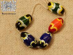 Glass beads Vjatichi breed 12-13th A.D.