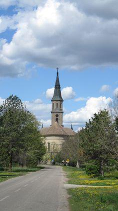 The Catholic church, the village Ečka, Zrenjanin, Serbia 2012/it is said that name Ečka was given according to wife of the Hungarian warior Atila, who's name was Ečka