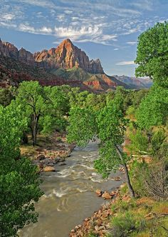 Zion National Park View - Utah.I want to go see this place one day.Please check out my website thanks. www.photopix.co.nz