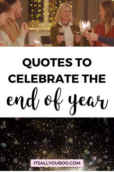 Let's welcome the new year! Celebrate the end of 2020, with 52 Inspirational End of Year Quotes and Sayings. Move forward into 2021, with these short motivational, happy new year quotes and encouragement to make it the best year yet. They're perfect for students from teaches or for sharing with friends in December. #NewYears #2020Goals #NewYearsEve #NewYearsGoals #NewYearNewYou #NewYears2020 #QuotesToLiveBy #QuotesToRemember #InspirationalQuotes End Of Year Quotes, Happy New Year Quotes, Quotes About New Year, Quotes To Live By, New Year Gif, New Year New You, New Year 2020, Best Joker Quotes, Move Forward
