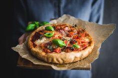 Slaný koláč s mozzarellou - Recept s remoskou - Lenivá Kuchárka