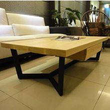 País da américa sala de estar sofá madeira maciça mesa de café conferência retro moda criativa ferro forjado café ferro forjado tab(China (Mainland))