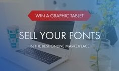 Giveaway: Dodaj fonty na TemplateMonster marketplace i wygrywaj Wacom Intuos Pro
