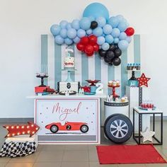 A Comprehensive Overview on Home Decoration - Modern 2nd Birthday Party For Boys, Second Birthday Ideas, Race Car Birthday, Cars Birthday Parties, Birthday Party Decorations, Festa Hot Wheels, Car Themed Parties, First Birthdays, Instagram