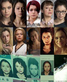 Tatiana Maslany legit plays half the cast in Orphan Black