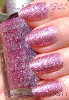 Sparked Wet N Wild Sparkle Nail Polish Pink Brands