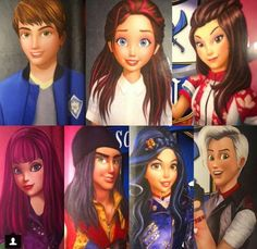 Descendants Wicked World, Disney Descendants, Harry Potter, Movie Collection, Kdrama, Character Design, Daughter, Photo And Video, My Favorite Things