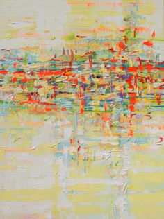 "Saatchi Art Artist Marta Zawadzka; Painting, ""Warm Day (canvas)"" #art"