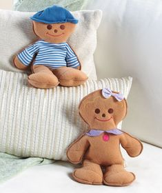 Cozy Cookie Microwavable Doll--kids' Bed Buddy