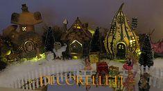 www.decorelle.fi - Suunnittele ja toteuta kaikkien aikojen ihanin ja hurmaavin joulun tunnelmaa hehkuva joulukyläsi myynnissämme olevilla keijutaloilla! Miniature Fairy Gardens, Garden Products, Miniatures, Koti, Painting, Decor Ideas, Painting Art, Paintings, Painted Canvas