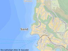 Enebolig med flott utsikt over Sandsfjorden - på FINN kart