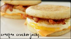 Learn how to make your very own egg McMuffins right at home! These are super easy to make and I'll even show you how to make the eggs without egg rings! Make up a dozen and freeze them to have throughout the week. You can use bacon, sausage or Canadian bacon on these. Make them your way! See how to make them here: http://youtu.be/jkk1lXbnEPY