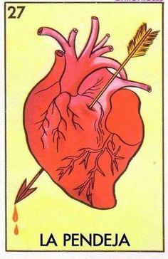 Lotería, el corazón ... y buenas!!