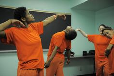 """We're in the press! """"Meditative dance frees women from emotional confines of jail,"""" article from the SF Chronicle."""