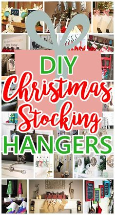 Looking for some FUN Christmas Crafts as budget friendly ways to hang up your family's Christmasstockings this year? I love all of the ideas people have come up with for Handmade …