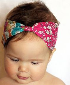 cute headband!  I know some baby girls that need these!
