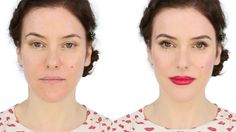 Lisa Eldridge youtube makeup tutorial - one of my favourite looks from lisa eldridge