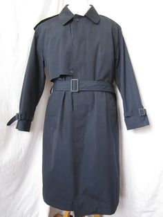 Coat Trench 38 Short Moores Rainwear Zip Out Liner Rain Blue Overcoat Top Mens Ebay Auction, Rain Wear, Username, Trench, Raincoat, Leather Jacket, Shirt Dress, Blazer, Mens Fashion