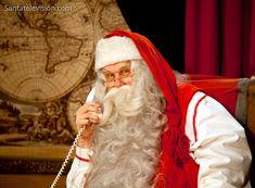 Père Noël au Bureau du Père Noël à Rovaniemi en Laponie