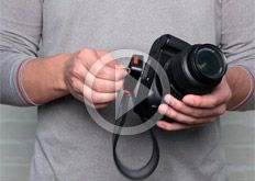 Camera Straps: 3-Way Wrist, Neck, and Shoulder Camera Strap by JOBY