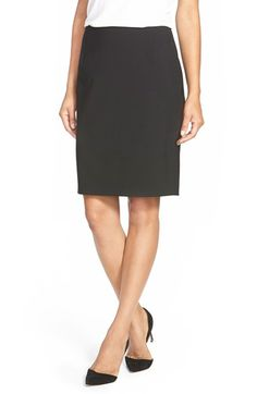 Elie+Tahari+'Bennet'+Stretch+Wool+Pencil+Skirt+available+at+#Nordstrom