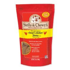 Stella and Chewy's Chicken Dinner for Dogs!