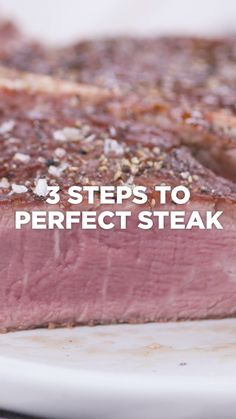 A bath makes everything better, especially your steak. Click the link below to shop the Perfect Steak Collection. Tasty Videos, Food Videos, Beef Dishes, Food Dishes, Beef Recipes, Cooking Recipes, Cooking The Perfect Steak, Confort Food, How To Cook Beef