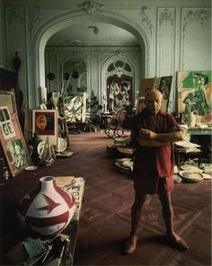 Workspaces of the greatest artists of the world (38 pictures)