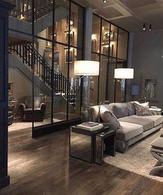 Best Living Room Design, Dream Home Design, Modern House Design, Living Room Designs, Living Rooms, My Dream Home, Modern Houses, Design Room, Spacious Living Room